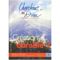 Création durable?