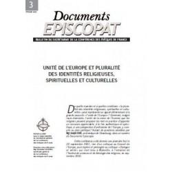 Unité de l'Europe et pluralité des identités religieuses