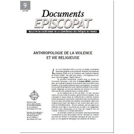 Anthropologie de la violence et vie religieuse