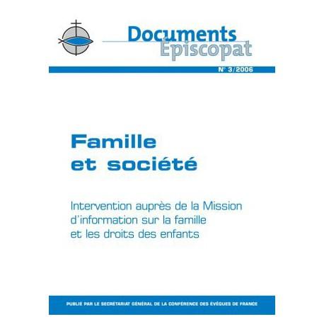 Famille et société
