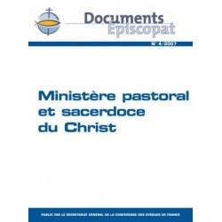 Ministère pastoral et sacerdoce du Christ