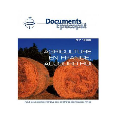 L'agriculture en France aujourd'hui