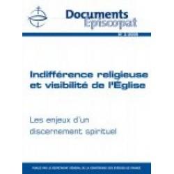Indifférence religieuse et visibilité de l'Eglise