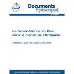 La foi chrétienne en Dieu dans le monde de l'Antiquité