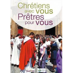 """DVD """"Chrétiens avec vous, pretres pour vous"""""""
