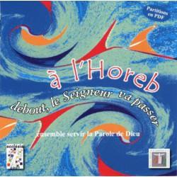 """CD musique et Cantiléne """"à l'Horeb"""""""