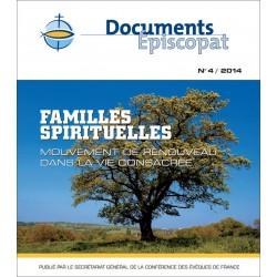 Familles spirituelles mouvement de renouveau dans la vie consacrée