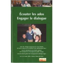 Ecouter les ados Engager le dialogue