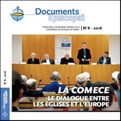 LA COMECE Le dialogue entre les Eglises et l'Europe