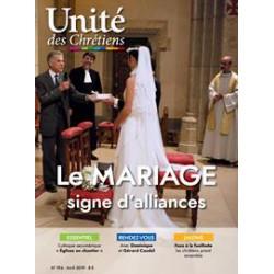 Le mariage - signe d'alliances