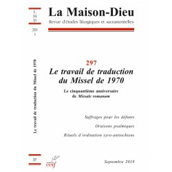 Le travail de traduction du Missel de 1970