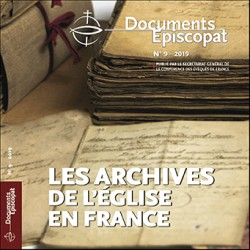 Les archives de l'Eglise en France