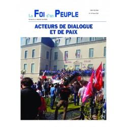 Acteurs de dialogue et de paix
